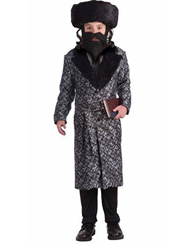 Forum Novelties Deluxe Rabbi Child Costume, Large]()