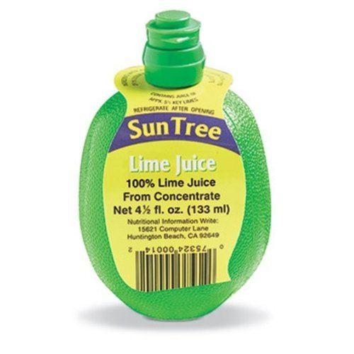 Epic 91-501 4.5 oz Sun Trees 100Percent Lime Juice From Concentrate with Hang Tag