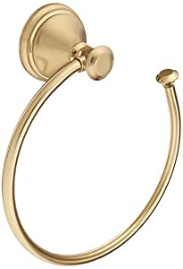 Delta Faucet 79746-CZ Cassidy Towel Ring, Champagne Bronze