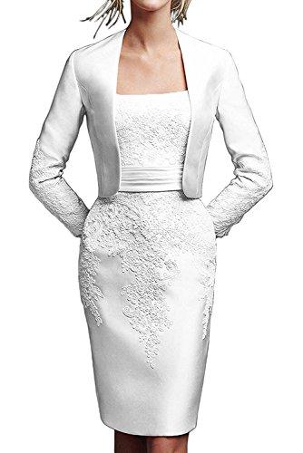 TOSKANA BRAUT - Vestido - Estuche - para mujer Weiß