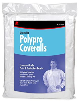Buffalo Industries (68517) Non-Hooded Polypro Disposable Coverall - Size X-Large