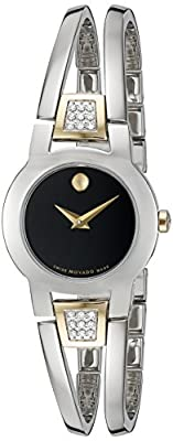 Movado Women's Swiss Quartz Stainless Steel Casual Watch (Model: 0606894) from Movado