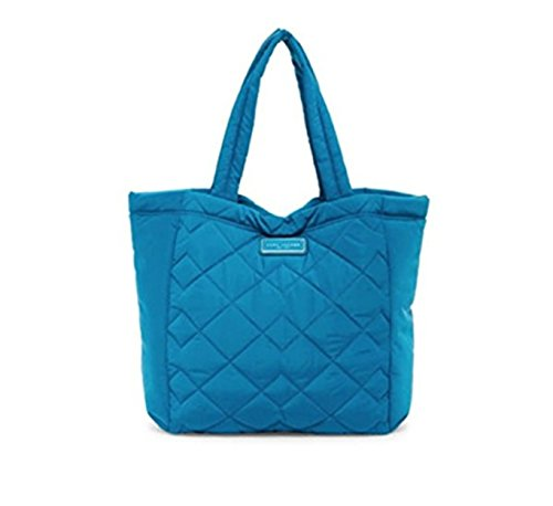 Bag Tote Nylon Quilted - Marc Jacobs Quilted Nylon Tote Bag, Turquoise