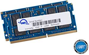 OWC 32.0Gb (2 X 16Gb) 2666Mhz Ddr4 Pc4-21300 So-Dimm 260 Pin Memory Upgrade, (2666Ddr4S32P), For 2018 Mac Mini (Macmini18,1), 2019 27 Inch Imac (Imac19,1) And Pc Laptops