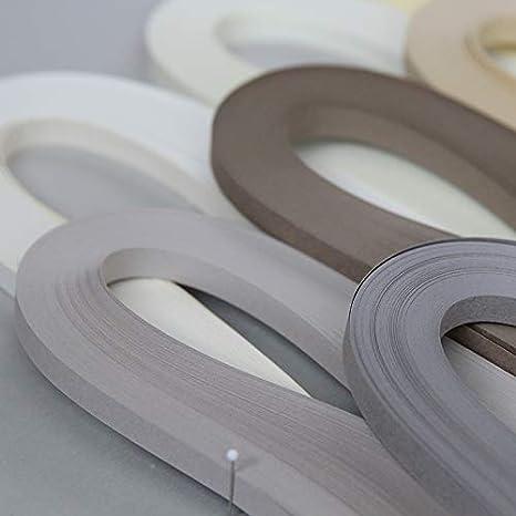240 St/ücke dunkelgrau ODETOJOY Papier Quilling Streifen 5mm grau Quilling Papierstreifen Quilling Papier 5mm Quilling Streifen 5mm grau 52cm