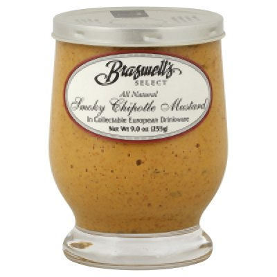 Braswell Mustard Smoky Chipotle 9 oz (Pack Of 6)]()