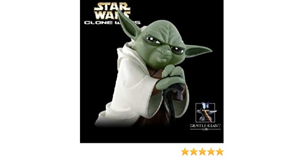 Amazon com: YODA - CLONE WARS - MAQUETTE - GENTLE GIANT - LIMITED