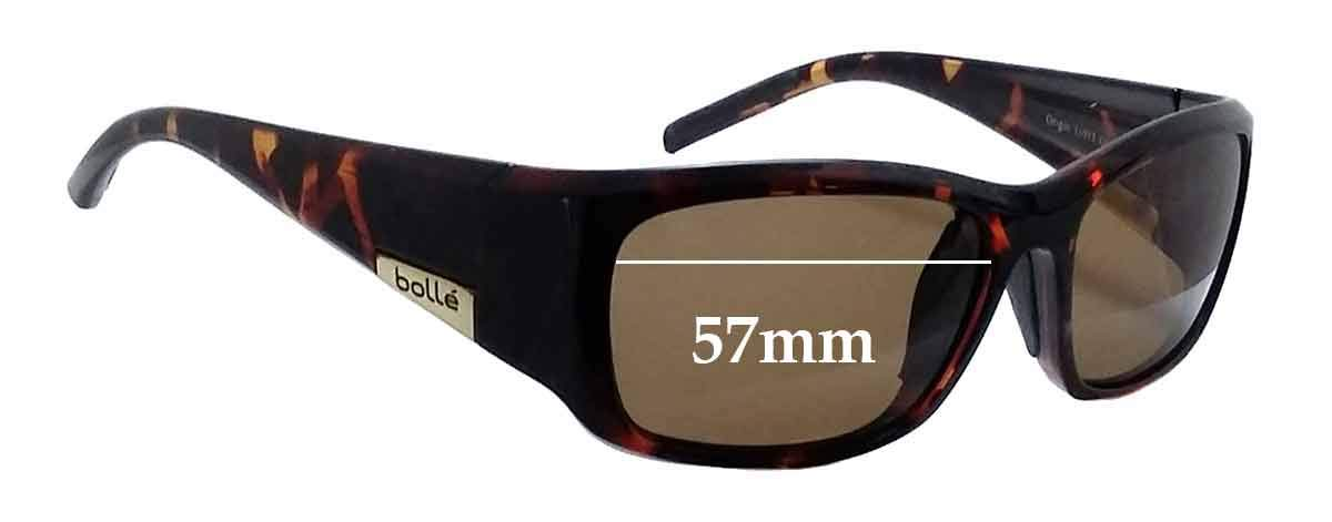 SFX Replacement Sunglass Lenses fits Bolle Origin 57mm Wide