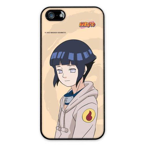 Diabloskinz H0081-0062-0041 Naruto Hinata Schutzhülle für Apple iPhone 5/5S