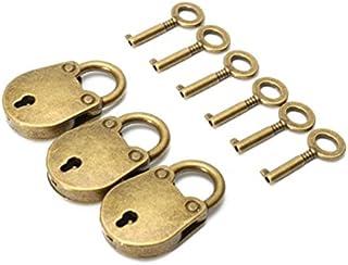 Lugii Cube Premium Ours Sac Forme Serrure Catch décoratifs Mini Cadenas avec clés 3pcs/lot LanLan