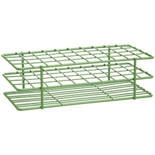 Bel-Art Products 18772-0000, Poxygrid Green Test Tube Rack 40 Places (Pack of 4 pcs)