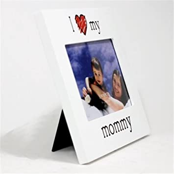 Amazon.com: Lawrence Frames 550064 I Love My Mommy Picture Frame ...