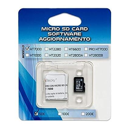 Micro SD Card AGG. 100/200 € HT2800 para serie de ...
