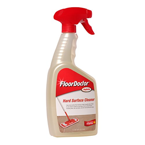 Floor Doctor Hard Surface Cleaner Spray, Refreshes Hard Surface Flooring While Extracting Tough Dirt and Grime, Results in Bright and Clean Floors, 24 oz.