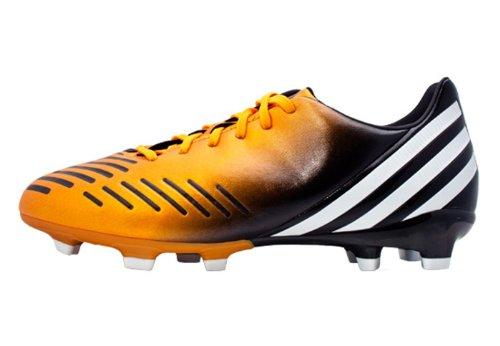 adidas Jr Predator Absolado LZ TRX FG (Bright Gold/Running White/Black) (2.5 Youth M) - Absolado Trx Fg Soccer Shoe