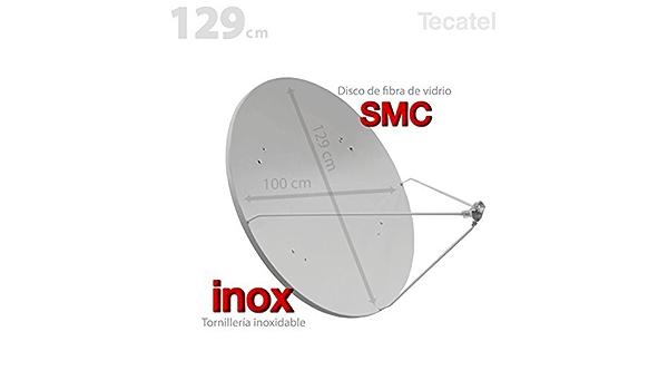 Tecatel tv satelite - Antena parabolica 120cm offset fibra ...