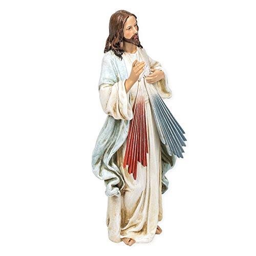 - Jesus Christ Divine Mercy Renaissance Collection 9.5 Inch Resin Stone Statue Figurine