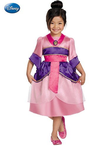 Disguise Disneys Mulan Sparkle Classic Girls Costume