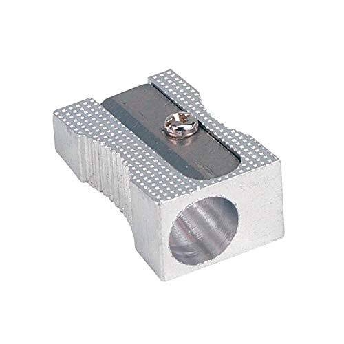 24 x SINGLE HOLE METAL PENCIL SHARPENERS OMG 5060050440701