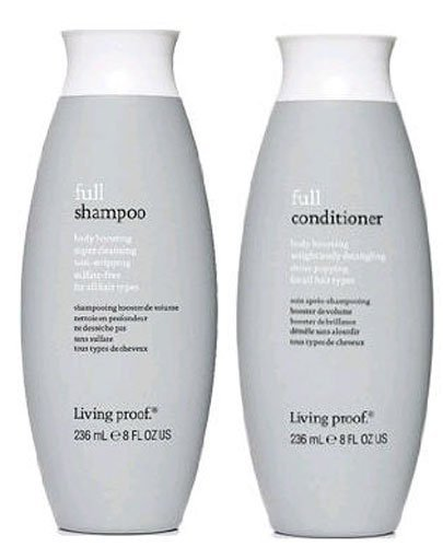 Living Proof Full Shampoo and Conditioner Set, 2 Count 8 FL OZ (236 ML) by Living Proof (Image #1)