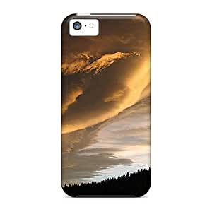 High-end Case Cover Protector For Iphone 5c(cloud Sensational)