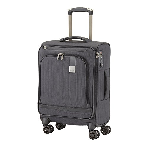 Titan CEO Executive 22'' Carry-on 4 Wheel Spinner Luggage Grey by Titan