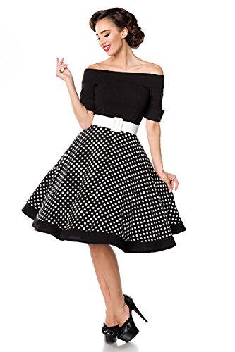 Black retro Black free Shoulder retro dress free dress Shoulder n4Cqwf8x8