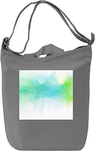 Watercolor Full Print no. 1 Borsa Giornaliera Canvas Canvas Day Bag| 100% Premium Cotton Canvas| DTG Printing|