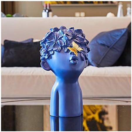 Yxsd Artesanía Mariposa Decoración Infantil Hogar Suave Decoraciones Vinoteca Moderno Y Simple Modelo De Sala De Estar Casa Creativa Artesanía Pequeña Decoración Obra De Arte (Color : Blue)