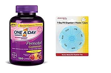 Una gomitas Prenatal de la mujer de un día, cuenta 120 con gratis 7 días