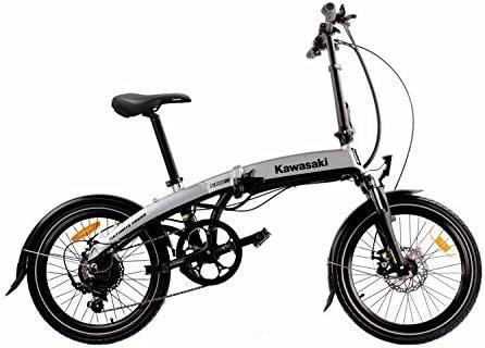 Kawasaki Erwachsene XciteRC Folding-Bike Faltrad Fahrrad, Schwarz ...