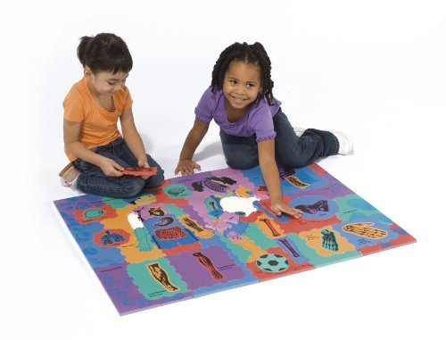 WonderFoam Giant Our Body Activity Puzzle by Chenille Kraft (Chenille Puzzle Kraft)