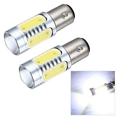 K-NVFA Merdia 1157 7.5W 600lm mazorca 4SMD llevó y 1 lente de condensador de luz blanca luz de marcha atrás Lámpara / freno (12v / par) KK-V- 4453 KAOV 8291985031505