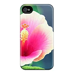 Abrahamcc Scratch-free Phone Case For Iphone 4/4s- Retail Packaging - Wallflower