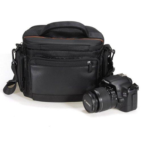 dslr cas appareil photo sac pour canon rebelle t5i t4i et. Black Bedroom Furniture Sets. Home Design Ideas