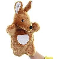 Funrarity Cute Fluffy Storytelling Role Playing Animal Hand Puppet (Kangaroo)