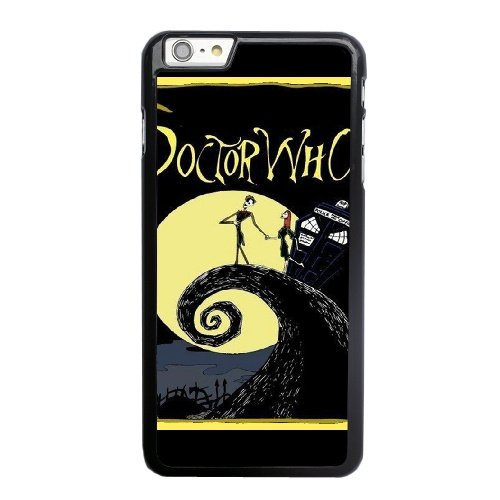 Coque,Apple Coque iphone 6 6S (4.7 pouce) Case Coque, Doctor Who Nightmare Before Christmas Phone Case Cover for Apple Coque iphone 6 6S (4.7 pouce) Noir Plastic Ultra Slim Cover Case Cover