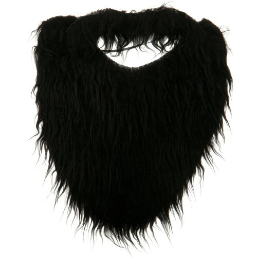 Lumberjack Beard Costume (Fun Beard - Black)