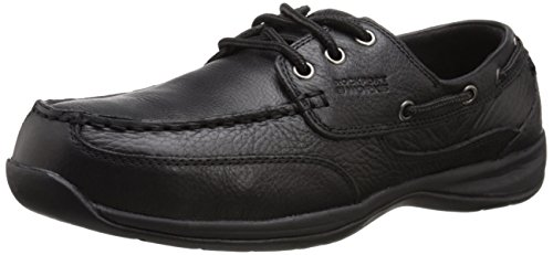Rockport Work Mens Sailing Club Rk6738 Scarpa Da Lavoro Nero