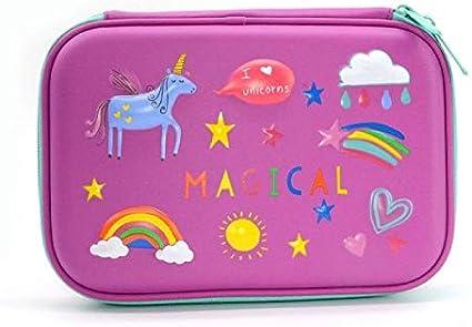 ASCZFAS bolsa de lápiz Tiburón caja de lápices de pescado estuche escolar unicornio útiles escolares trousse scolaire stylo caja de lápices caja de lápices dinosaurio papelería X: Amazon.es: Oficina y papelería