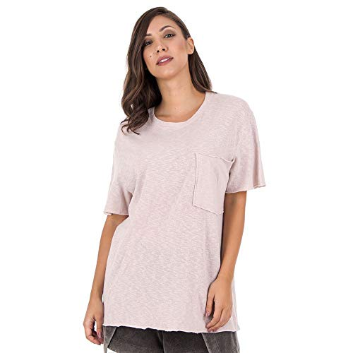 Camiseta Galen - Rosa - Tamanho M