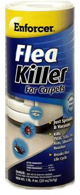 Enforcer Flea Killer For Carpets Multiple Insects Powder 20