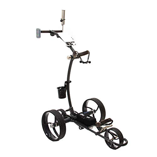 Cart-Tek GRi-1500LTD V2, Lithium-ion Battery Powered Electric Golf Trolley with Remote Control