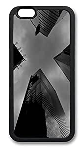 iPhone 6 Plus Cases, Big City Durable Soft Slim TPU Case Cover for iPhone 6 Plus 5.5 inch Screen (Does NOT fit iPhone 5 5S 5C 4 4s or iPhone 6 4.7 inch screen) - TPU Black