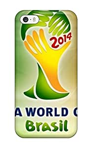 PlLAnrx6598EOTEg Tpu Phone Case With Fashionable Look For Iphone 5/5s - Fifa World Cups 2014