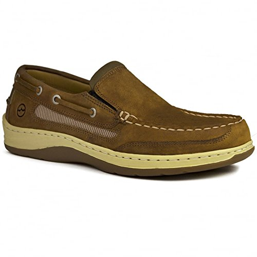 Shoe On Sports Deck Mens Bay Leather Orca Suede Slip Sand Largs xRUzY0qCw