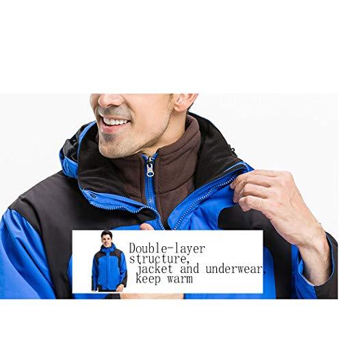 Donna Alta Impermeabile Uomo Di E Sci Huifang Blue Antivento Giacca Da Gamma Escursionista Outdoor Men wPqt0X