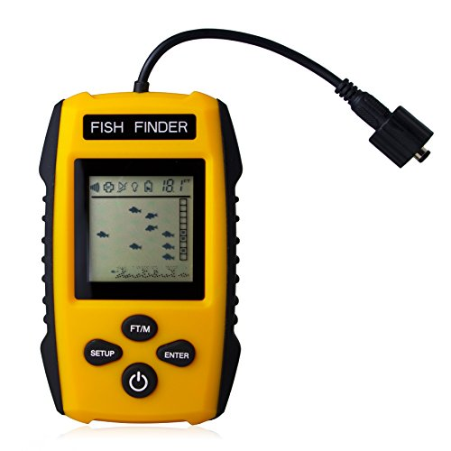 updated version venterior portable fish finder handheld