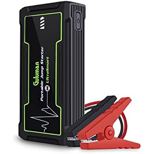 Buy Guluman 800A 16800mAh Car Jump Starter, 12V Auto Battery Booster Jump Starter Pack, Portable Power Bank with LED SOS Flashlight