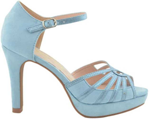 Fiesta Semi-Closed Light Blue Sandal